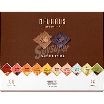 Neuhaus Napolitanas de chocolate belga 10 variedades 60 piezas Estuche 300 g