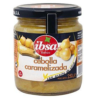 Ibsa Cebolla caramelizada Frasco 240 g neto escurrido