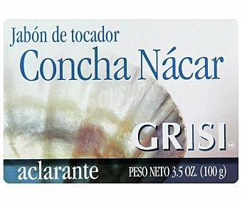 GRISI Jabón tocador Concha Nácar aclarante 100 Mililitros