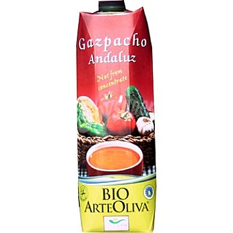 Arteoliva Gazpacho Andaluz Ecológico Brik 1 lt
