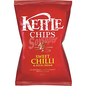 Kettle Patatas fritas Sweet Chili & Sour cream Bolsa 150 g