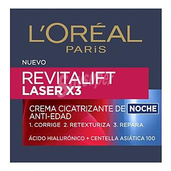Revitalift L'Orèal Paris Crema cicatrizante de noche anti-edad Laser X3 50 ml