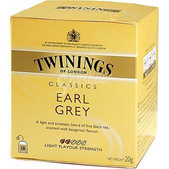 Twinings Té Earl Grey Estuche 10 sobres (20 g)