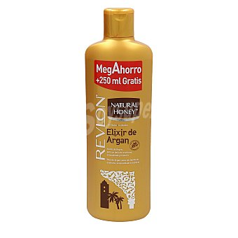 Natural Honey gel de ducha elixir de argán Bote 1 lt