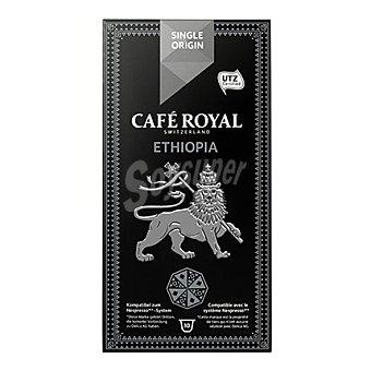 Café Royal Cápsulas de café original Ethiopia 10 ud
