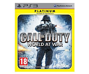ACTIVISION Call Duty:W. at War Ps3 1 Unidad