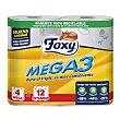 Mega3 papel higiénico Paquete 4 uds Foxy