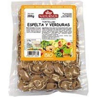 Natursoy Tortellini con espelta-verduras Bandeja 250 g