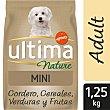 Nature alimento para perros mini con cordero Bolsa 1.25 kg Ultima Affinity