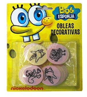Küchle Obleas decorativas bob esponja 8 g