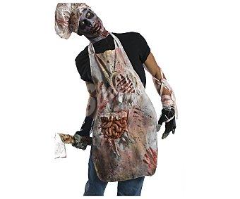 HAUNTED HOUSE Complemento para disfraz de Halloween, Delantal zombie Delantal terrorífico