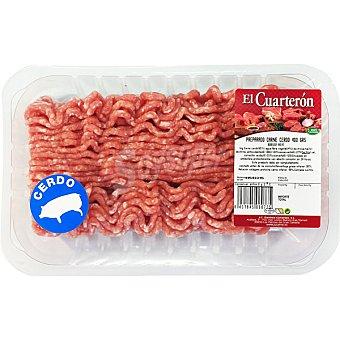 EL CUARTERON Carne picada de cerdo Bandeja 400 g