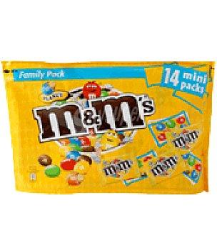 M&M's Cacahuetes recubiertos de chocolate 280 g
