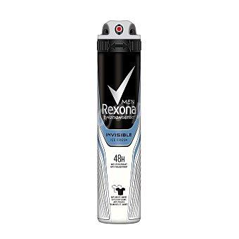 Rexona Desodorante Spray Rexona Men Invisible 200 ml 200 ml