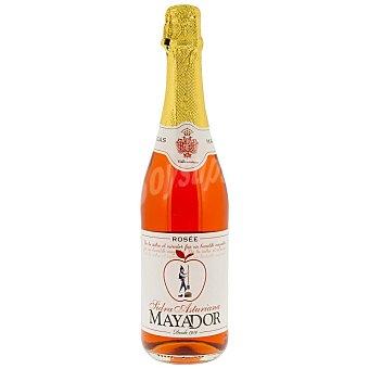 Mayador Sidra rosada achampanada asturiana botella 75 cl Botella 75 cl