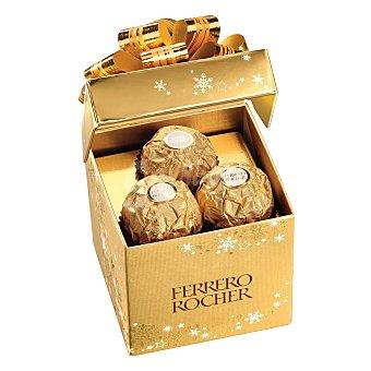 Ferrero Rocher Bombones de chocolate con leche y avellana 75 g