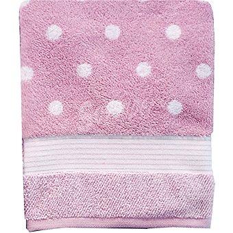 CASACTUAL Sevilla toalla jacquard de ducha en color rosa