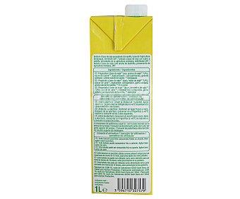 Auchan Bio Bebida de Soja sabor Vainilla Ecológico 1L