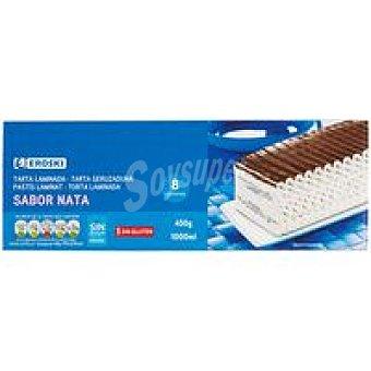 Eroski Tarta helada de nata Caja 1 litro