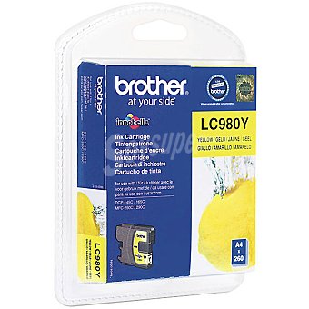 BROTHER LC980Y Cartucho de tinta color amarillo