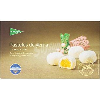 El Corte Inglés Pasteles de yema de mazapán de Toledo Calidad Suprema estuche 300 g Estuche 300 g