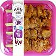 Kids mini pinchos de pavo sin gluten y sin lactosa peso aproximado bandeja 500 g bandeja 500 g TURKEY LOVERS