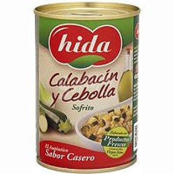 Hida Calabacín-cebolla zarangollo Lata 340 g