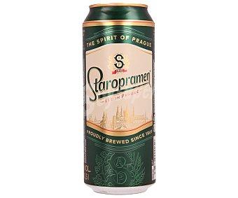 Staropramen Cerveza Lata de 50 centilitros