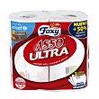 Rollos de cocina Asso Ultra 3 capas ultra absorbente Paquete 2 rollos Foxy