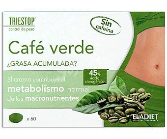 Triestop Complemento alimenticio a base de café verde con cromo 60 comprimidos
