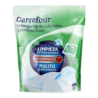 Carrefour Detergente en cápsulas 50 ud