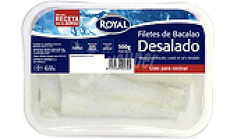 Royal BACALAO FILETE DESALADO 300 GRS