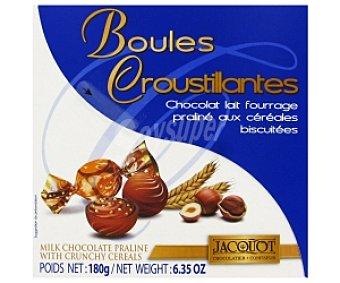 Jacquot Bombones de praliné con cereales 180 gramos