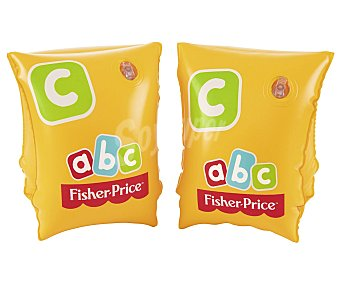 Fisher-Price Manguitos color amarillo para 3-6 años, 26x15cm., PRICE.