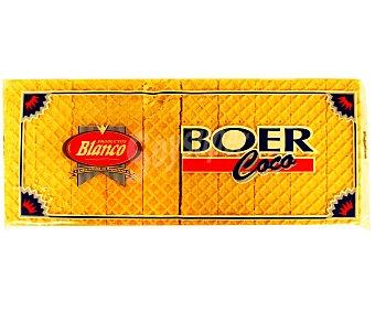 Blanco Barquillo sabor coco Boer 330 Gramos