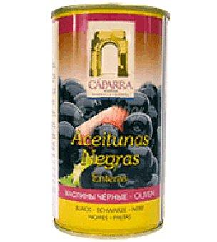 Cáparra Aceitunas negras enteras 185 g