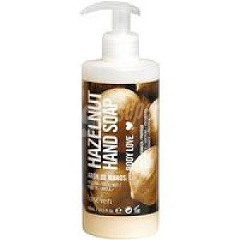 LAISEVEN Jabón de manos olor avellana Dosificador 400 ml