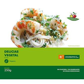 VEGESAN delicias vegetales sin colesterol sin conservantes congelado vegano  envase 250 g