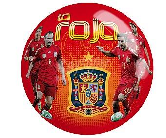 SMOBY Pelota infantil de 23 centímetros con diseño de la Selección Española 1 unidad