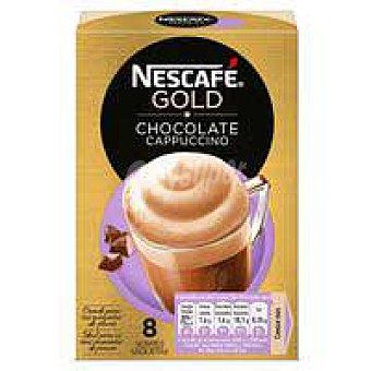 Nescafé Café mocha nescafé Gold, caja 8 sobres