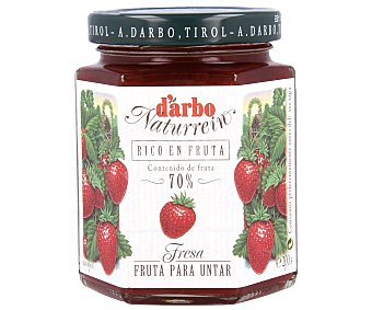 D'ARBO Mermelada de fresas de jardín Frasco 200 g