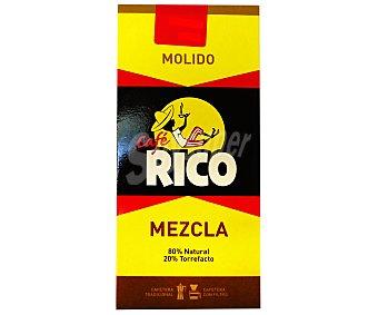 Rico Café molido mezcla 250 gramos