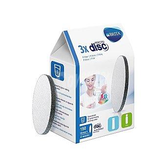 Brita Cartuchos Micro Disk - Blanco 3 ud