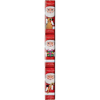SIMON COLL Chocolatiras Papá Noel   pack 3 unidades 18 g
