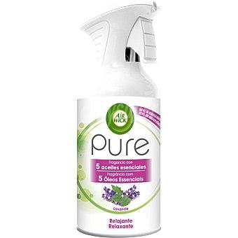 Air Wick Pure ambientador con 5 aceites esenciales aroma Lavanda spray 250 ml spray 250 ml