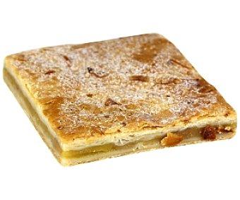 Bolleria Delicia de manzana con masa de hojaldre rellena de manzana triturada 150 gramos