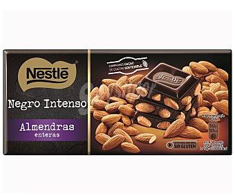 Nestlé Chocolate negro con almendras Tableta 200 g