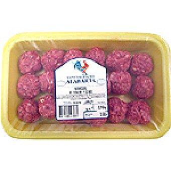 ALABARTA Albóndigas de ternera y cerdo peso aproximado Bandeja 300 g