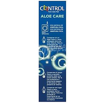 CONTROL Preservativos con aloe vera para un mayor cuidado 12 unidades