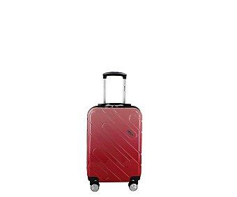 AIRPORT ALCAMPO Maleta de cabina de 55 centímetros de tipo trolley con 8 ruedas de color rosa alcampo